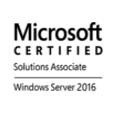 MCSA (Windows Server 2016)