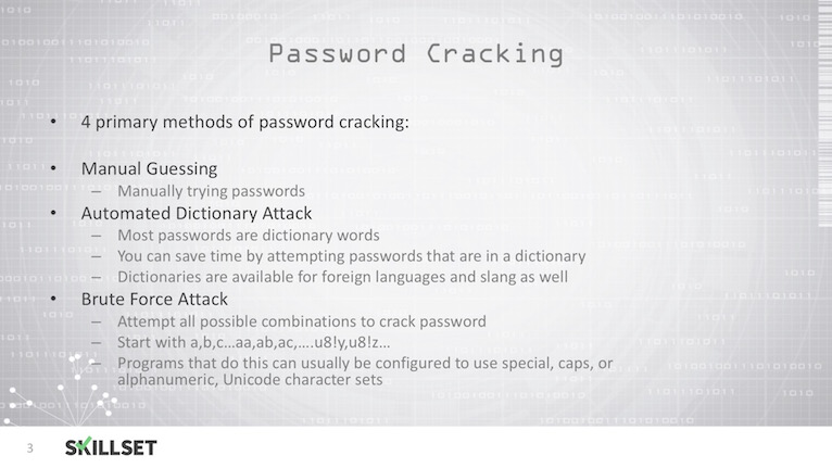 What is a syllable password attack? - Skillset