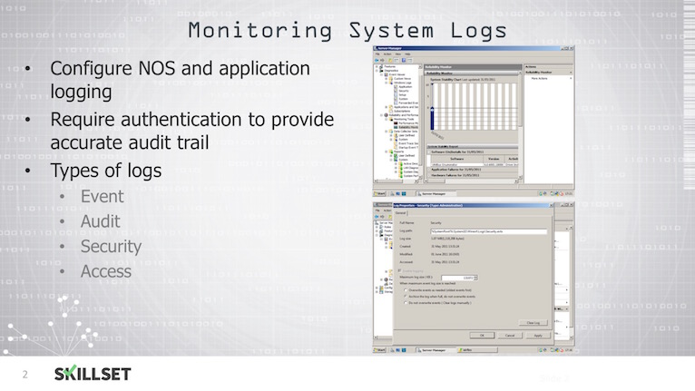M3-T07-Monitoring System Logs