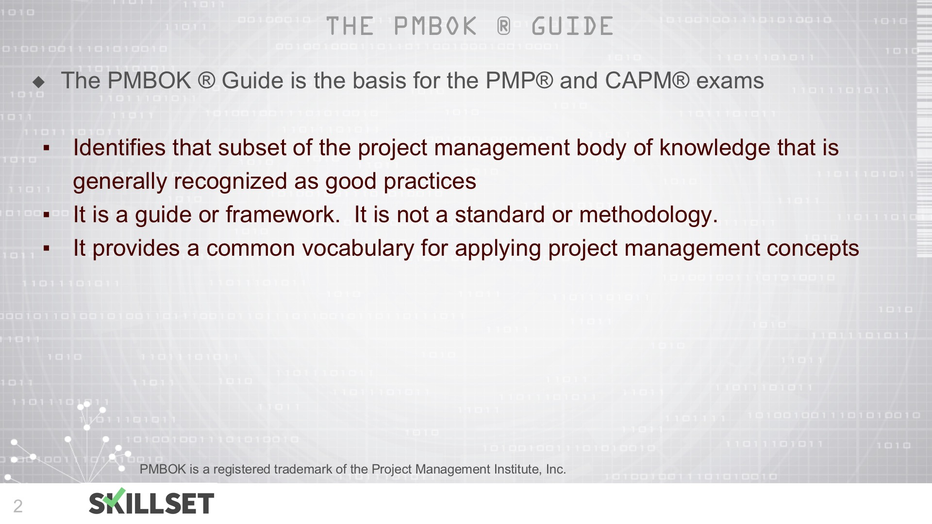 T11-Overview of PMBOK for PMP