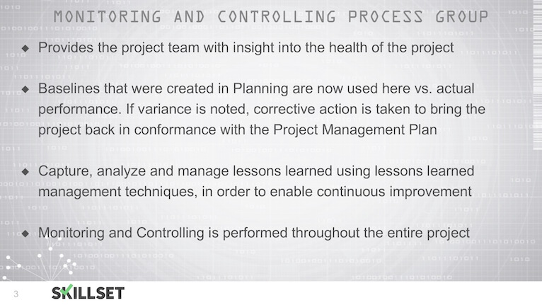 T27-Overview of the Monitoring _ Controlling Process Group