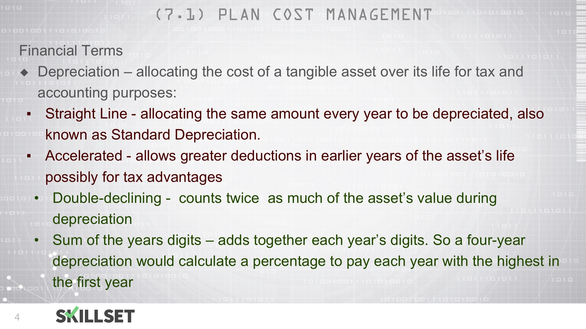 T52-Plan Cost Management ITTOs